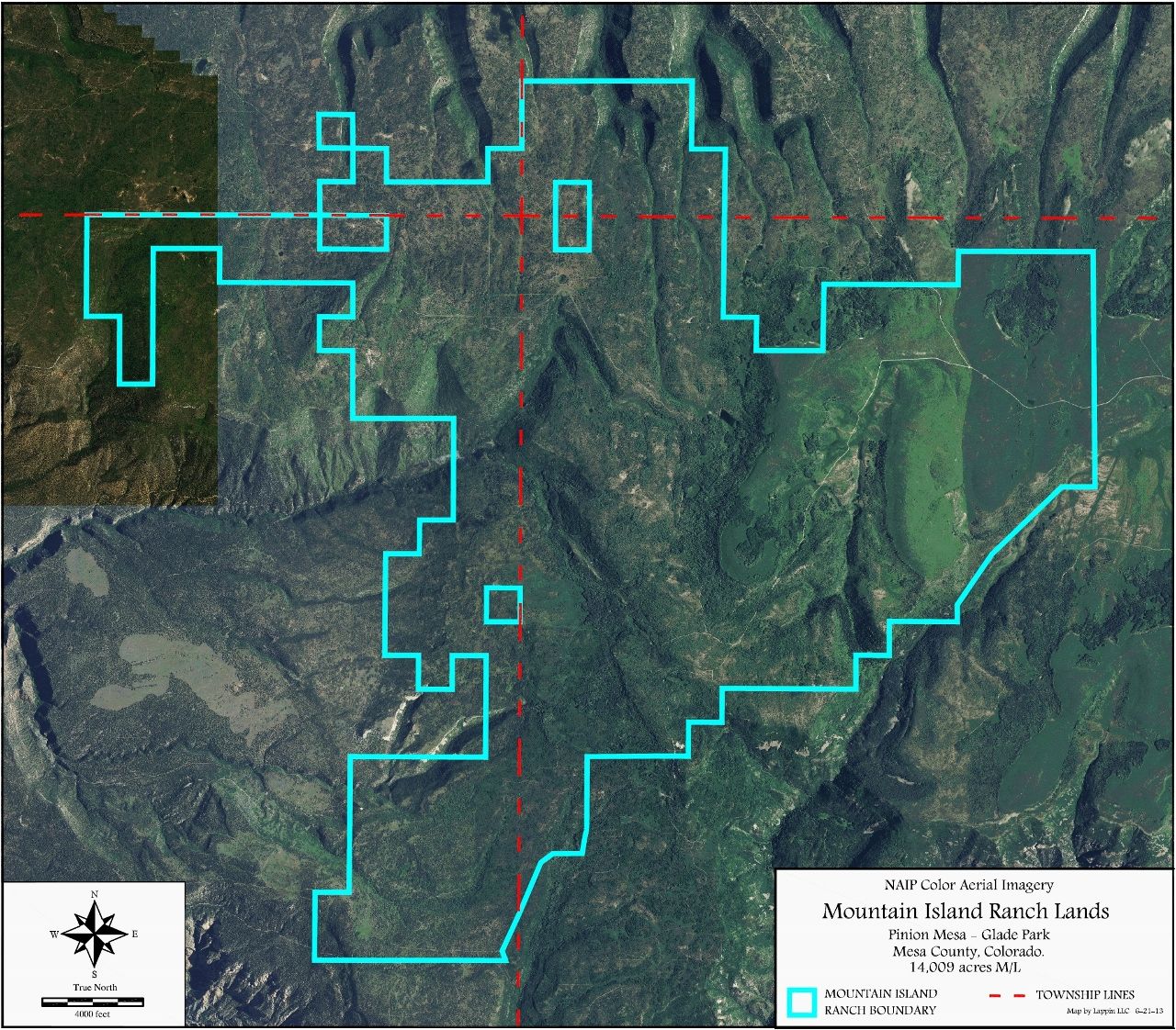professional mapping of mining claims and real estate